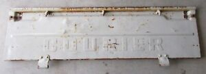 Vintage Early 1970 S Ford Courier Truck Pickup Tailgate Selling As Is