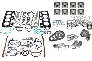 Chevrolet Fits Chevy Gm 6 5 Diesel Engine Overhaul Kit 92 93