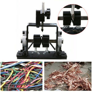 1 20mm Manual Wire Stripping Machine Copper Cable Peeling Stripper Black