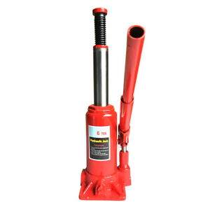 6 Ton Emergency Hydraulic Bottle Jack Lift Motorcycle Garage Shop Heavy Duty Us