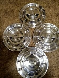 Vintage Chevy Hubcaps
