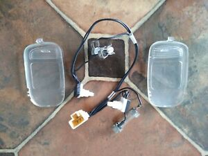 02 08 Dodge Ram 1500 Overhead Console Map Dome Light Switch Wiring Harness Lens