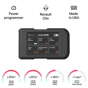 Renault Clio Smart Engine Tuning Chip Power Programmer Performance Race Tuner