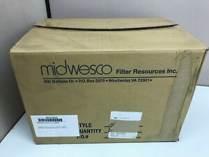 Case Of 35 New Midwesco Dust Collector Filter Bag Fw2045 rt01 8001929