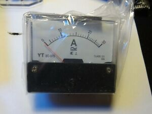 Analog Panel Amp Meter Ac30a Ammeter Ac0 30a Doesn t Require Shunt Yt 670