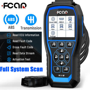 Fcar Heavy Duty Truck Abs Transmission Reset Scanner Obd Full System Code Reader