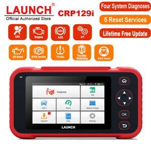 Launch Crp129i Auto Scanner Abs Srs Engine Diagnostic Code Reader Tpms Sas Reset