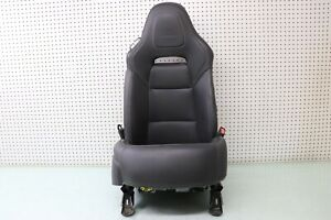 17 Chevrolet Corvette C7 Lt1 Seat Right Passenger Side Black Oem