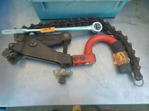 Ridgid 226 Soil Pipe Cutter Ratchet In place Cast Iron Snap Tube Bender Cutter