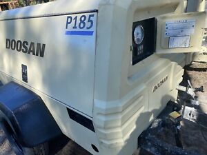Doosan 185 Cfm Towable Air Compressor