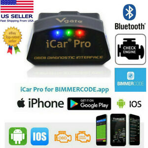Vgate Icar Pro Bluetooth 4 0 Bmw Bimmercode Code Reader Iphone Android Us