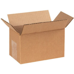 6 X 3 X 3 Long Corrugated Boxes Brown 25 bundle Ect 32 Shipping moving Boxes