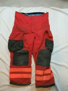 Lion Janesville 38s Firefighter Turnout Bunker Gear Pants Rescue Tow