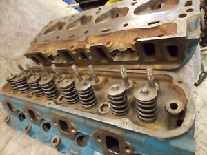 Ford Mustang Fairlane Falcon Mercury Cougar Windsor 289 Cylinder Heads C6ae Good