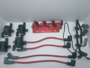 04 08 Mazda Rx8 Bhr Ignition Coil Packs Msd Plug Wires Used