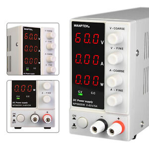 Nps605w Adjustable Linear Power Supply Regulated Bench Dc Switching 60v 5a 300w