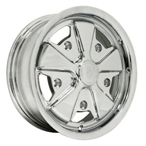 911 Alloy Wheels All Chrome 4 5 Wide 5 On 205mm Dunebuggy Vw