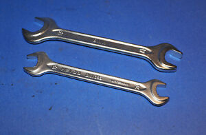 Vintage Bmw Heyco Double Open End Wrench 2 17mm 19mm 12mm 13mm Din 895 Oem
