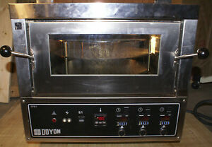 Doyon Fpr3 3 Deck High Speed Pizza Oven Jet air Rotating Commercial Restaurant