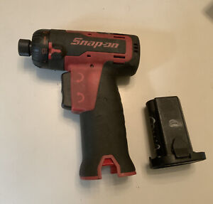 Heavily Used Snap On Cts661 1 4 Cordless Screwdriver With 7 2 Ctb6172 Battery