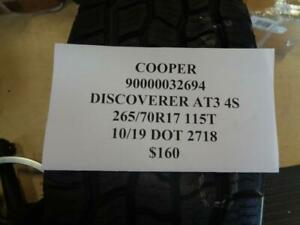 4 New Cooper Discoverer At3 4s 265 70 17 115 Tires Wo Label 90000032694 Bsr5 2