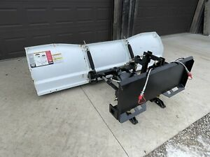 Skid Steer Tractor Quick Attach Snow Plow