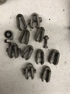 1928 1929 1930 1931 Ford Model A Gas Tank Hardware Clamps Original Hot Rod