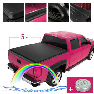 5ft Truck Bed For Ford Ranger 2019 2020 Low Profile Tonneau Cover 5 Bed Roll Up