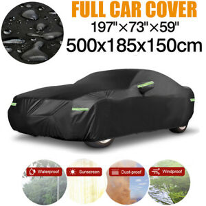 Heavy Duty Suv Full Car Cover Waterproof Outdoor Sun Protection Fit For 4 7 5 0m