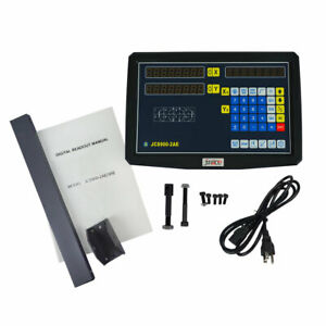 2 Axis Digital Readout Ttl Linear Glass Scale Dro Display Cnc Milling Lathe