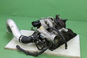 06 08 Vw Golf Audi A3 2 0l Engine Turbo Blower Turbocharger Exhaust Manifold