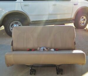 1998 2002 Ford Expedition 3rd Row Seat From Eddie Bauer 2001