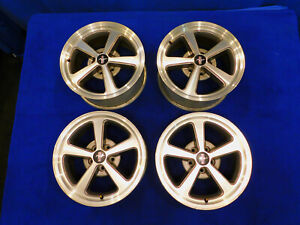 03 04 Ford Mustang Mach 1 Oem 17 Wheel Set Of Wheels 99 00 01 02 D30