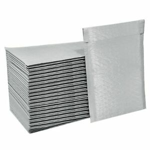 Poly White Bubble Mailers Mailing Shipping Padded Bags Envelopes 000 00 0