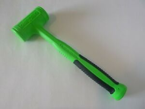 Snap On Green 32 Oz Dead Blow Soft Grip Handle Hammer Hbfe32