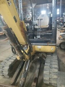 Cat Mini Excavator 302 5 With A 12 Dig Bucket And 36 Grading Bucket