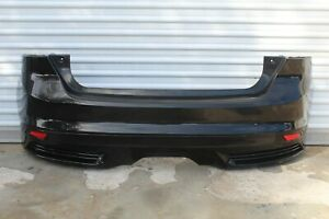 2013 2014 Ford Focus St Oem Complete Rear Bumper Cover Tuxedo Black Read
