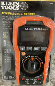 Klein Tools Mm400 600v Auto ranging Digital Multimeter New See Details