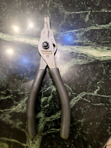 New 2020 Quick Release Gray Snap On Fixed Tip Retaining Ring Pliers Srpcr7000