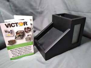 Victor Technology Pencil Cup With Note Holder Black