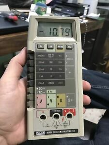 Fluke 8060a Multimeter Tested Working 1