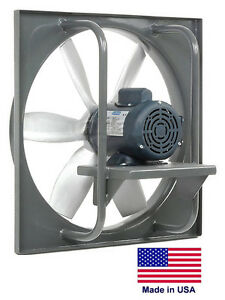 Exhaust Fan Industrial Direct Drive 42 3 Hp 230 460v 24 500 Cfm