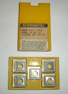 5 New Kennametal Snmg 643 K420 Carbide Inserts