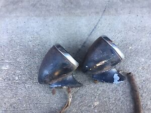 1930s Tail Light Bucket And Mounting Bracket Gm Buick 35 36 37 Hot Rod Rat Rod