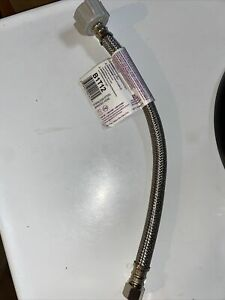 Fluidmaster B1t12 Toilet Connector Braided Stainless Steel 3 8 Female Comp