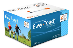 Easy Touch Syringes 30g 1cc ml 5 16 8mm 1box 100 Pieces