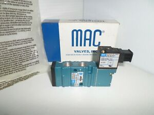 new In Box Mac 411a f0a dm dfbj 1kj Solenoid Valve 24vdc