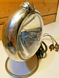 Vintage Unity Spot Light Chrome W Stand Swanky Barn