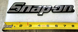 New Snap on Tool Box Cart 3d Tool Box Roll Cab Chrome Badge Logo Emblem Decal