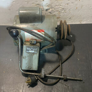 South Bend Lathe Motor Forward reverse Switch Work Ready 115v Machinist Used